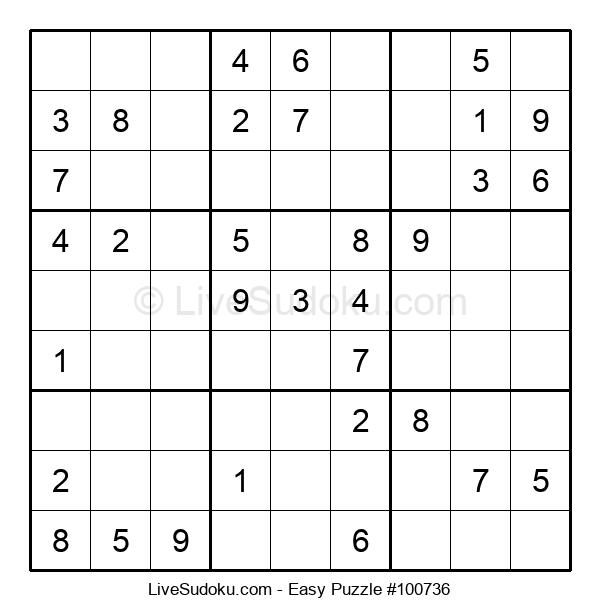 Beginners Puzzle #100736