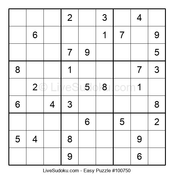 Beginners Puzzle #100750
