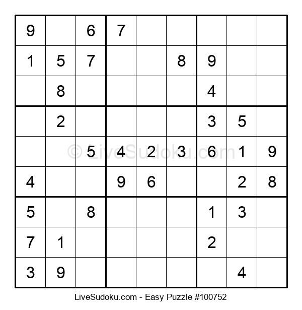 Beginners Puzzle #100752
