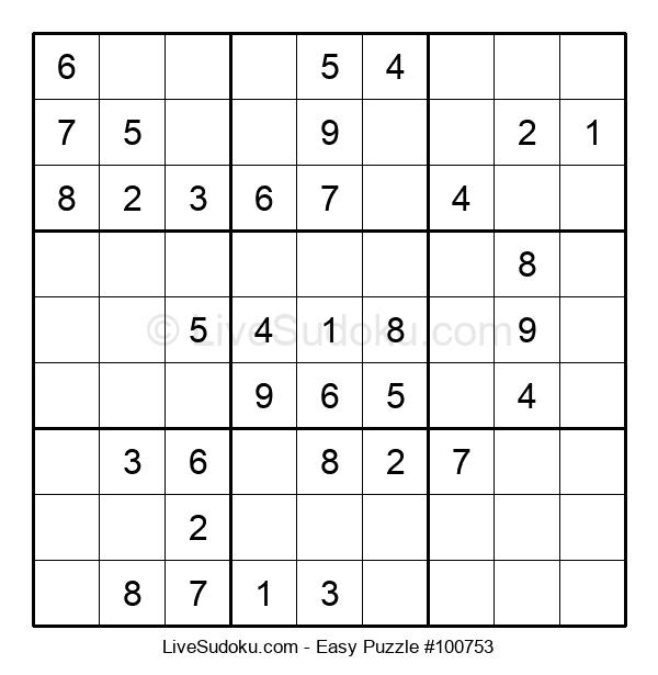 Beginners Puzzle #100753