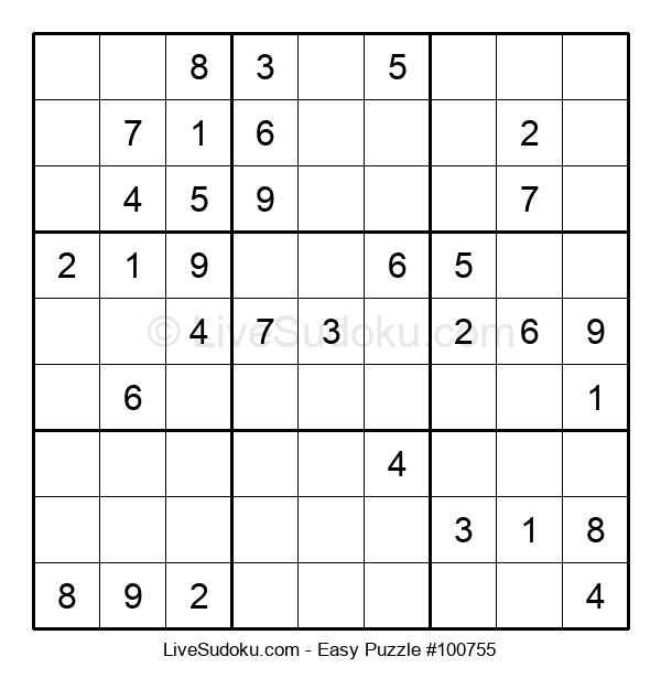Beginners Puzzle #100755