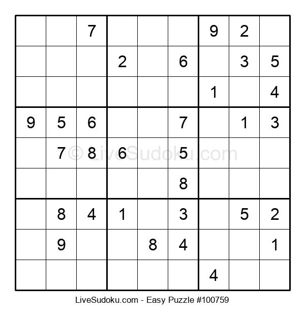 Beginners Puzzle #100759