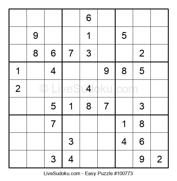 Beginners Puzzle #100773