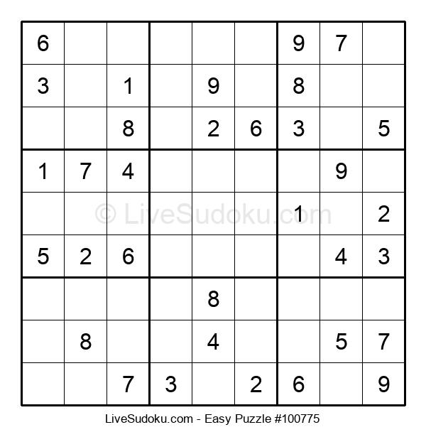 Beginners Puzzle #100775