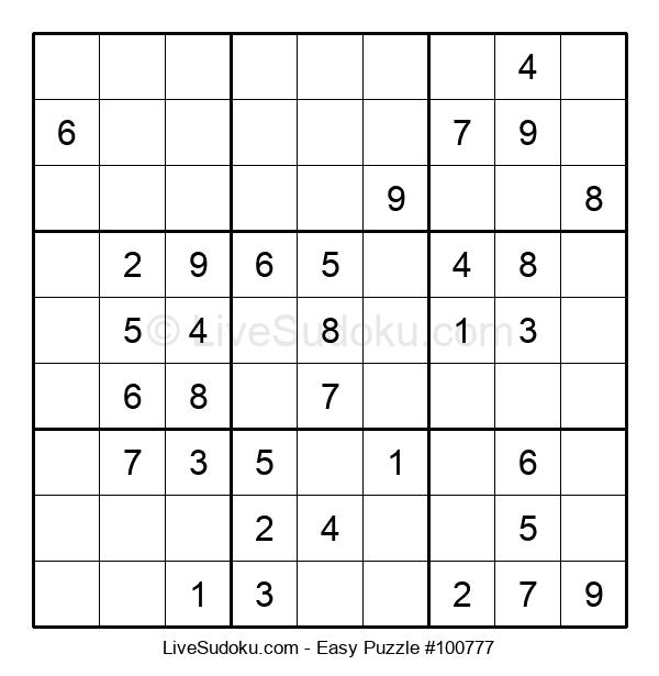 Beginners Puzzle #100777