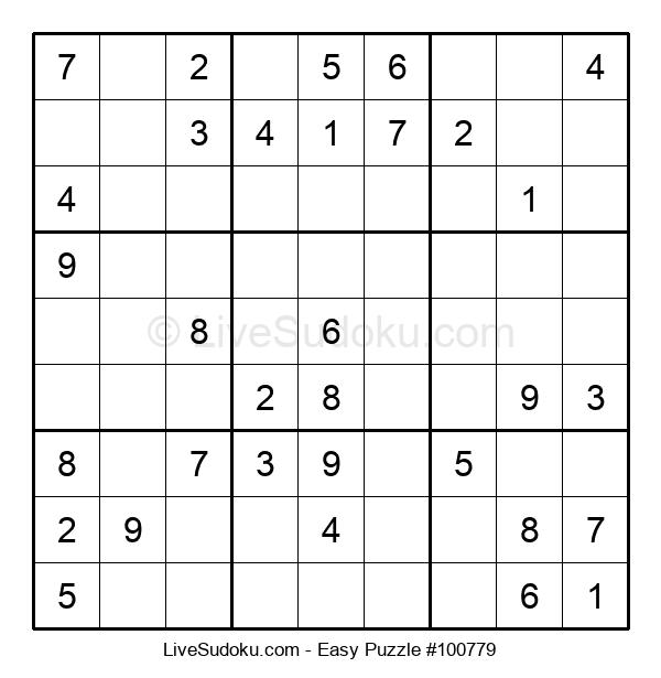 Beginners Puzzle #100779