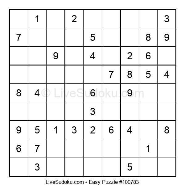 Beginners Puzzle #100783