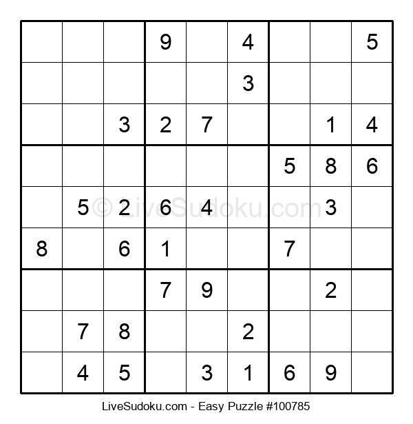Beginners Puzzle #100785