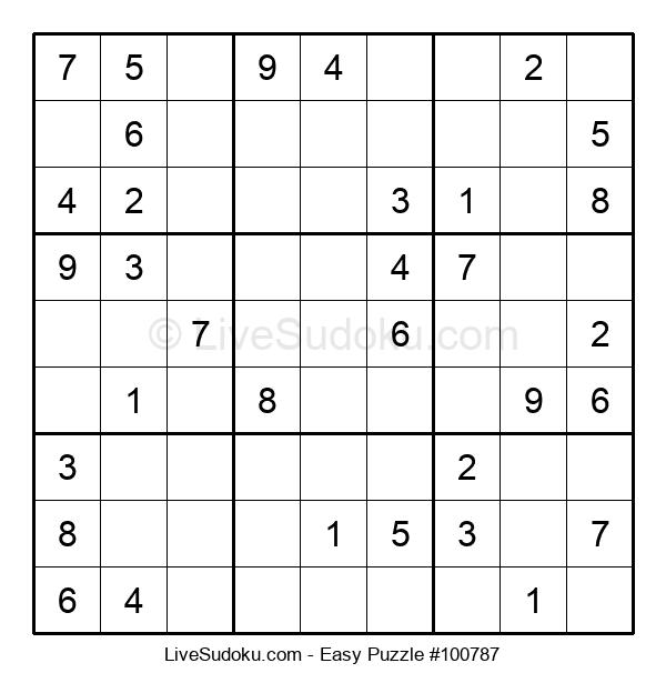 Beginners Puzzle #100787