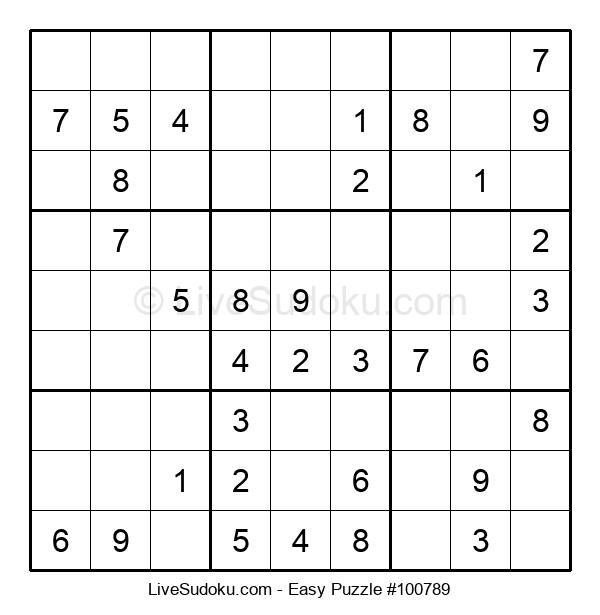 Beginners Puzzle #100789