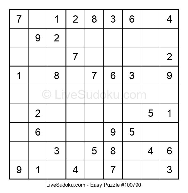 Beginners Puzzle #100790