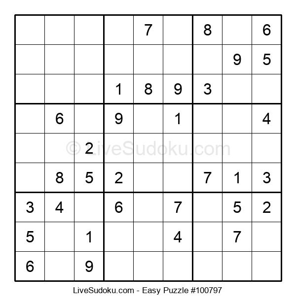 Beginners Puzzle #100797