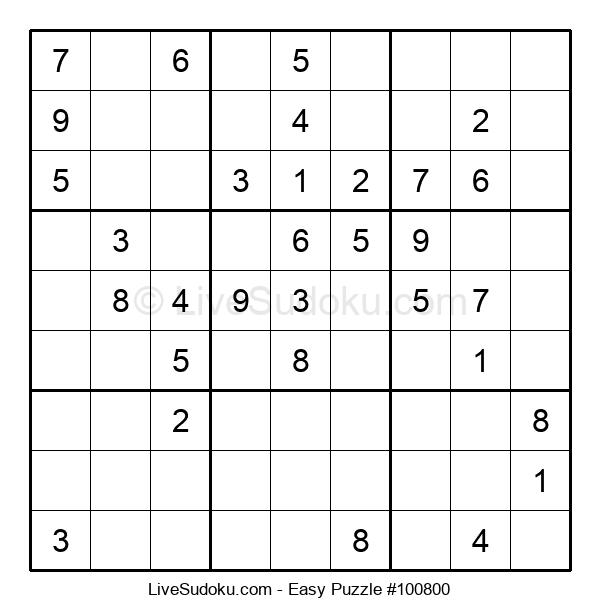Beginners Puzzle #100800