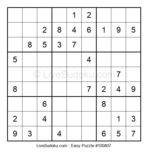 Beginners Puzzle #100807