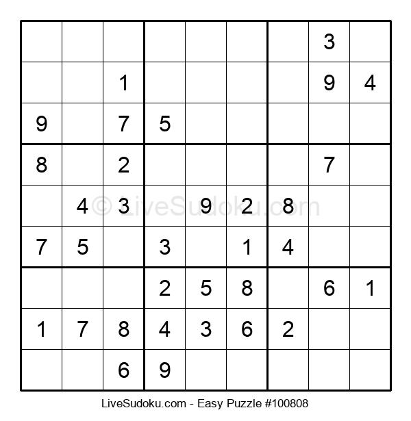 Beginners Puzzle #100808