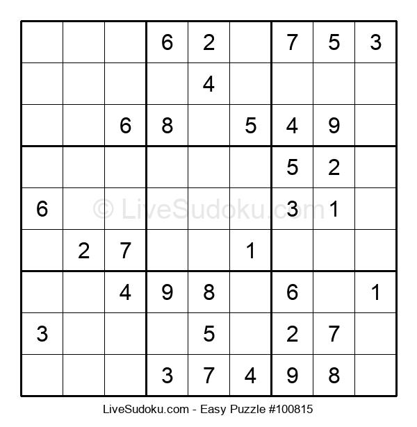 Beginners Puzzle #100815