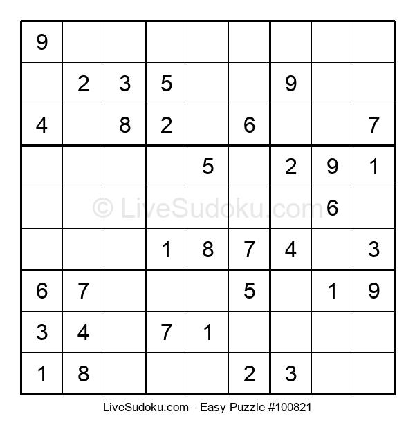Beginners Puzzle #100821