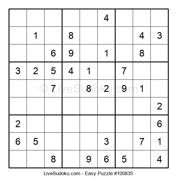 Beginners Puzzle #100835