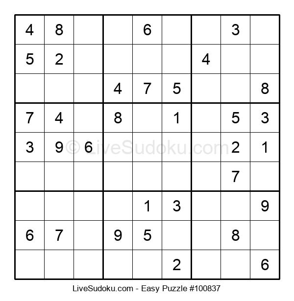 Beginners Puzzle #100837