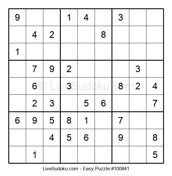 Beginners Puzzle #100841