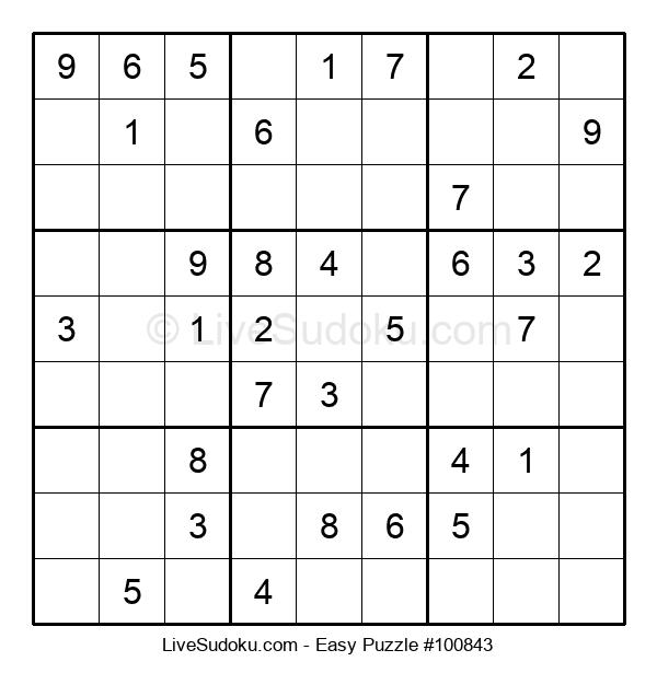 Beginners Puzzle #100843
