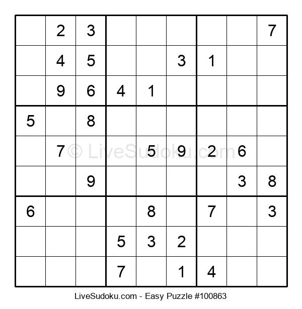 Beginners Puzzle #100863