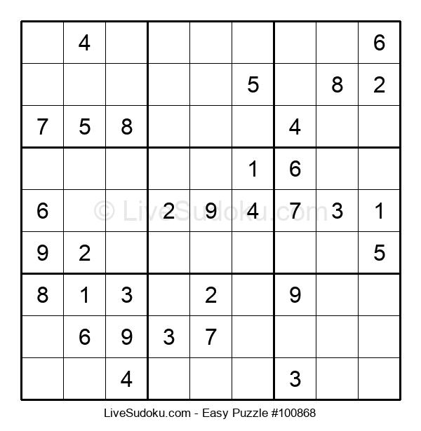 Beginners Puzzle #100868