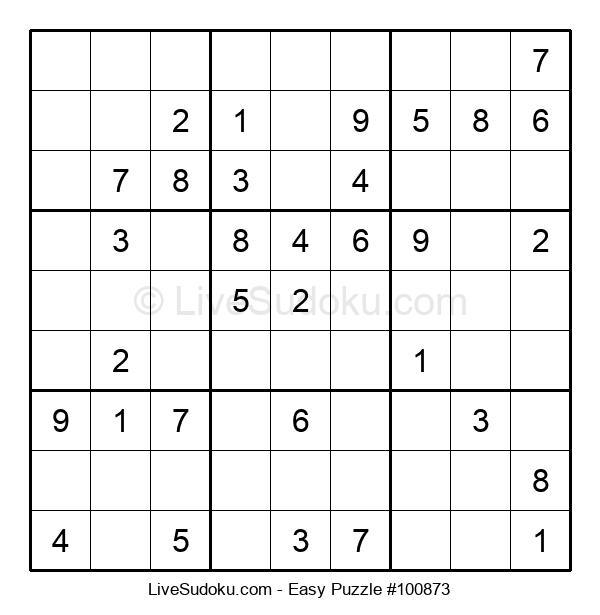 Beginners Puzzle #100873