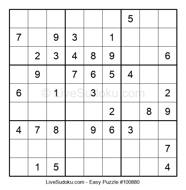 Beginners Puzzle #100880