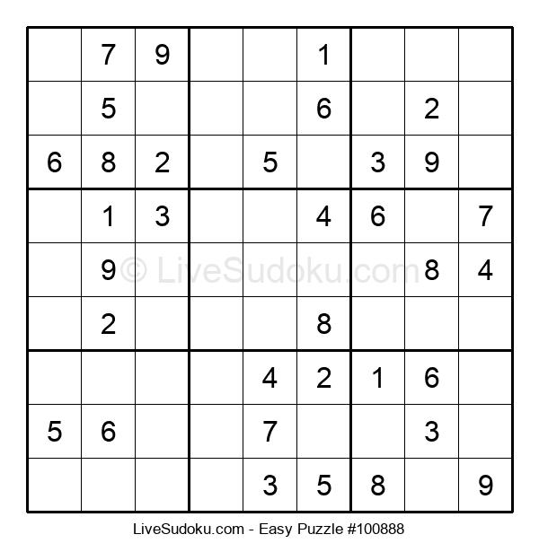 Beginners Puzzle #100888