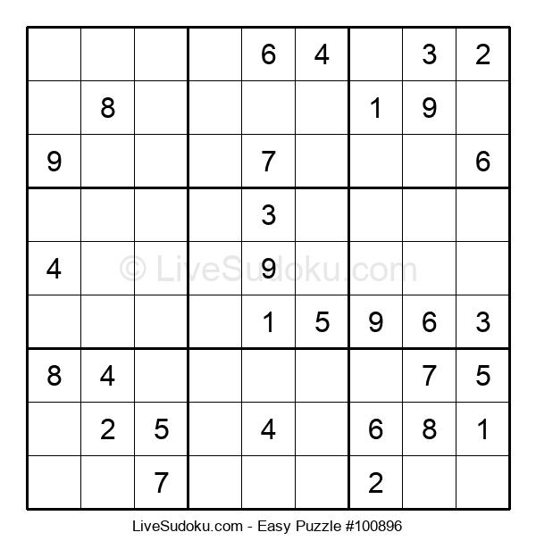 Beginners Puzzle #100896