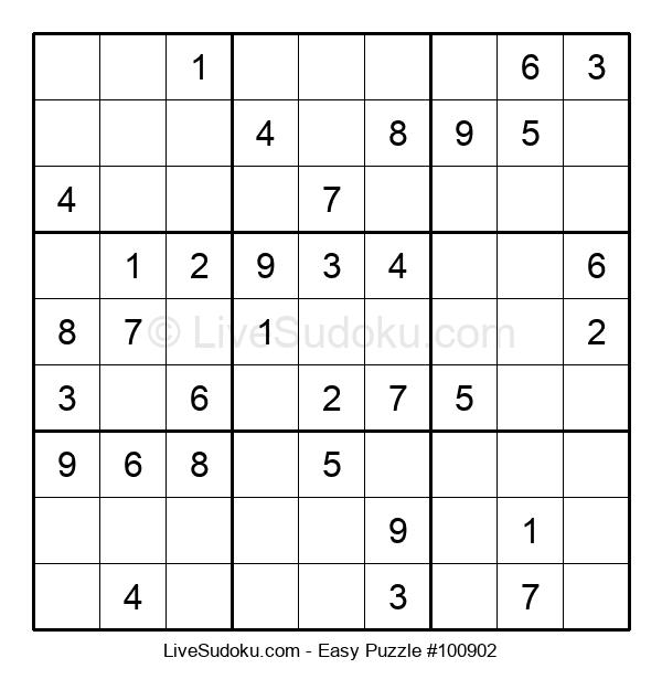 Beginners Puzzle #100902