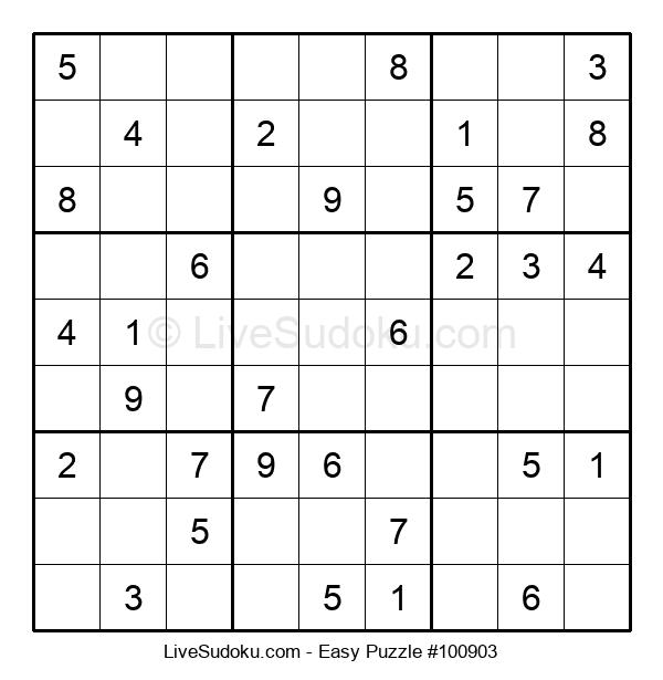 Beginners Puzzle #100903