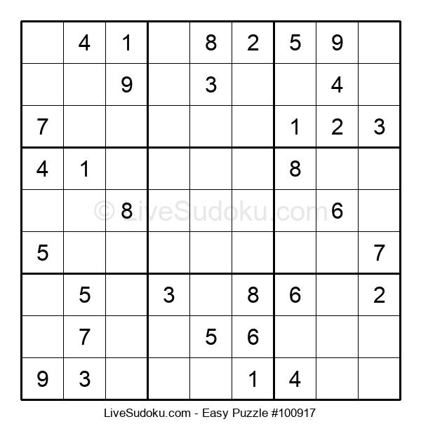 Beginners Puzzle #100917