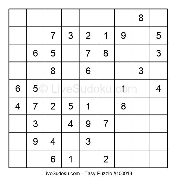 Beginners Puzzle #100918
