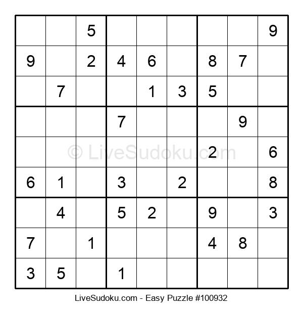 Beginners Puzzle #100932