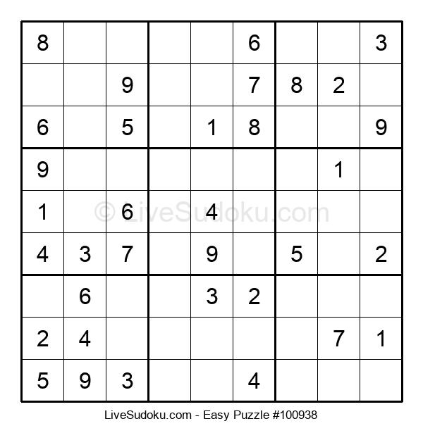 Beginners Puzzle #100938