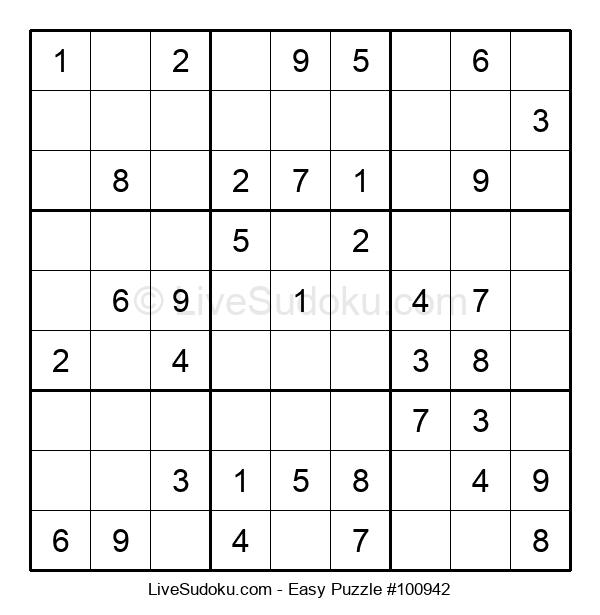 Beginners Puzzle #100942