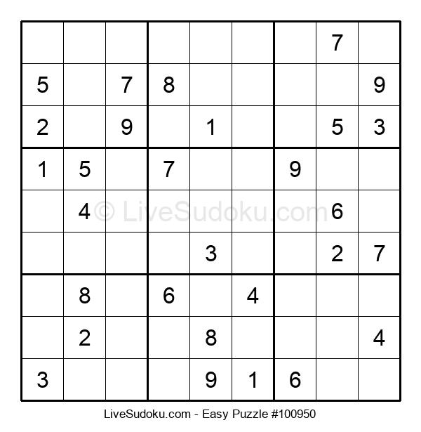 Beginners Puzzle #100950