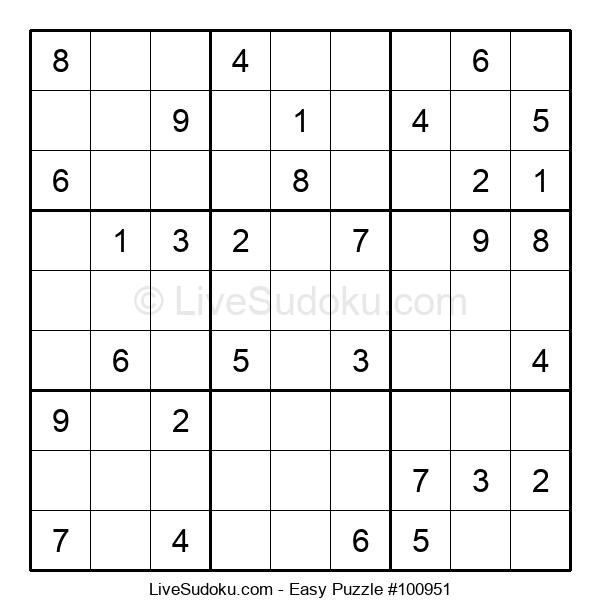 Beginners Puzzle #100951