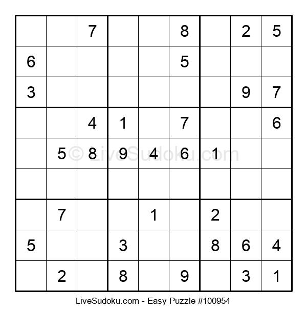 Beginners Puzzle #100954