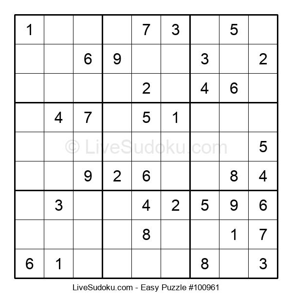 Beginners Puzzle #100961