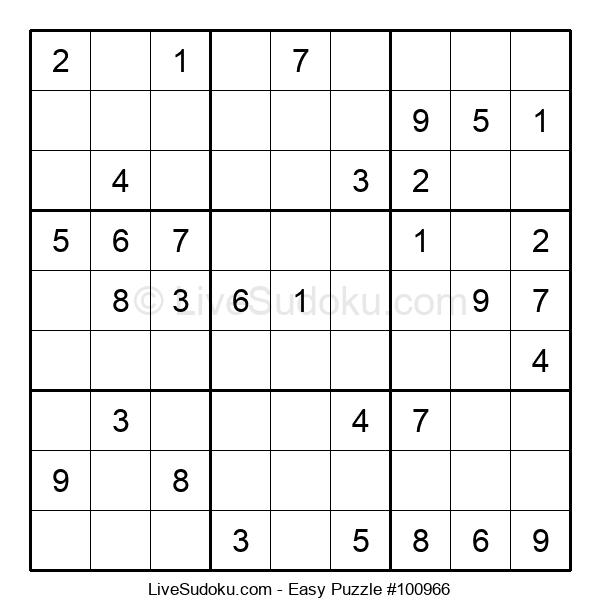 Beginners Puzzle #100966