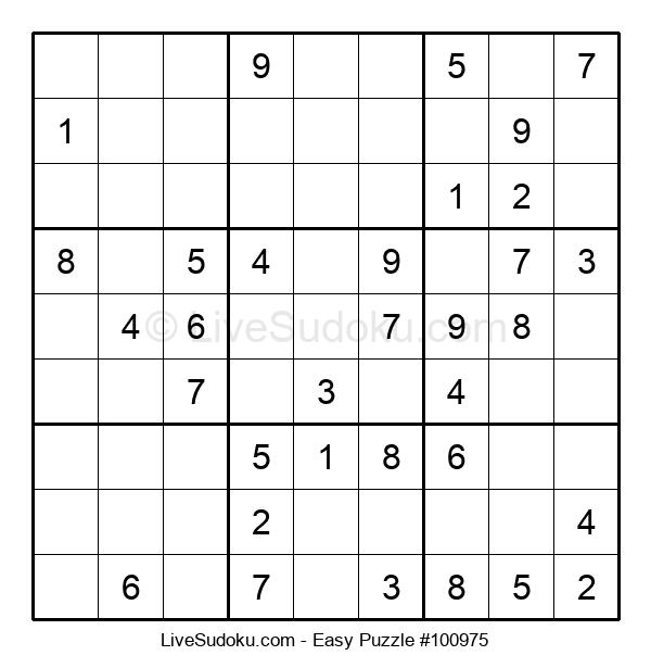 Beginners Puzzle #100975