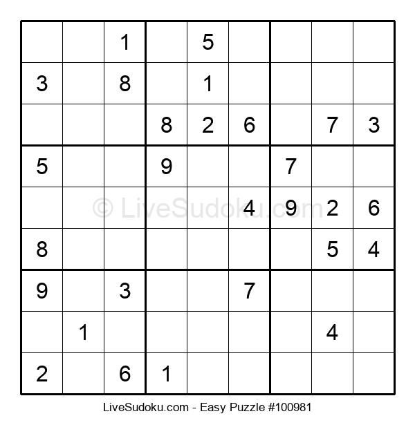 Beginners Puzzle #100981