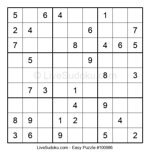 Beginners Puzzle #100986