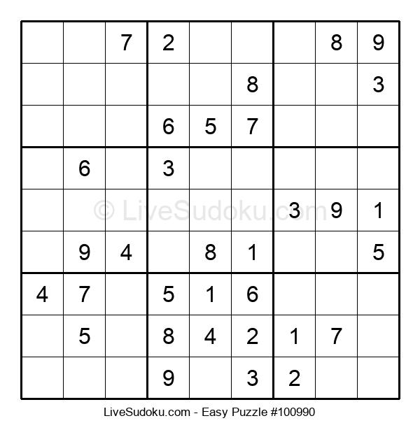 Beginners Puzzle #100990