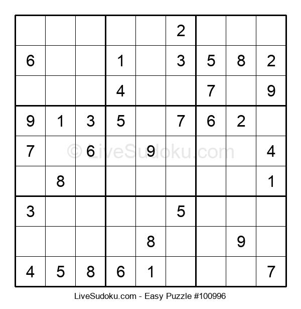 Beginners Puzzle #100996