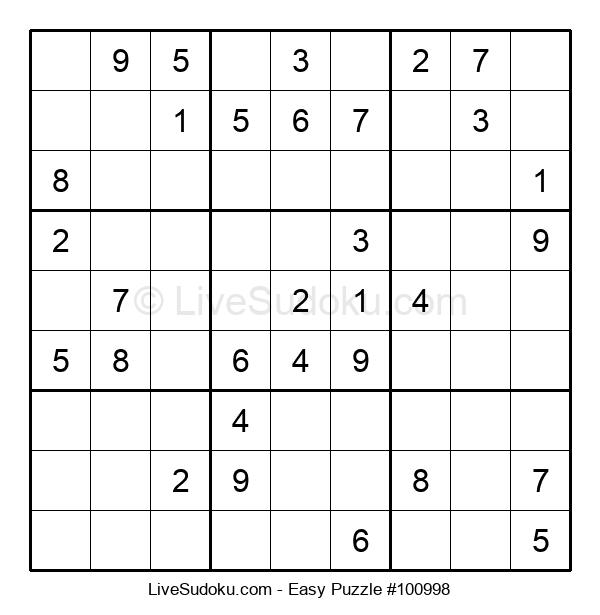 Beginners Puzzle #100998