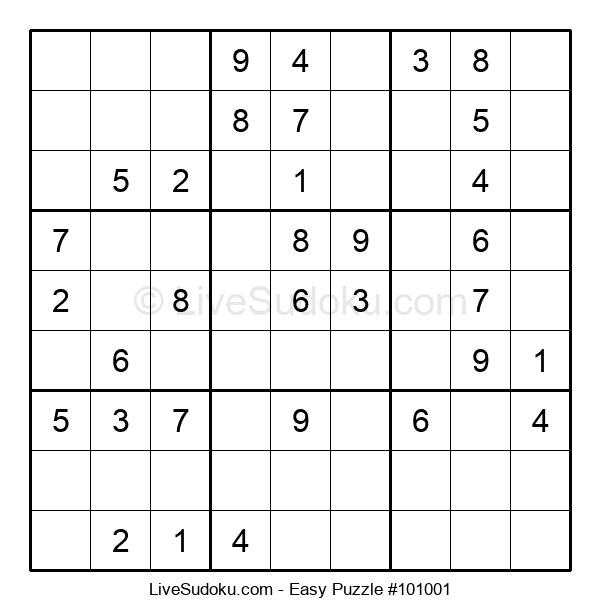 Beginners Puzzle #101001